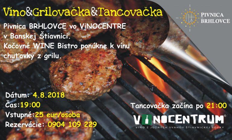 Víno&Grilovačka&Tancovačka